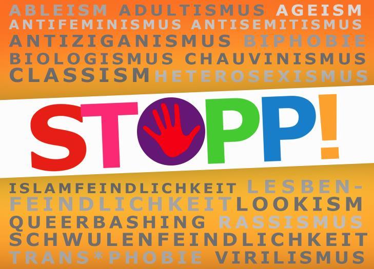 STOPP Diskriminierung