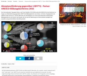 Pariser UNESCO-Konferenz