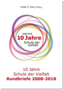 Buchcover 10 Jahre Schule der Vielfalt, Frank G. Pohl