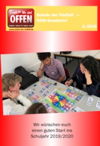 Titelseite Rundbrief Schule der Vielfalt